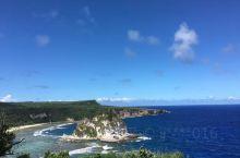北马里亚纳群岛的蓝色天空