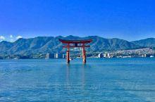 日本三景之一严岛神社