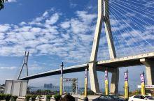 雄伟的洋浦大桥