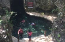 xcaret乐园的地下河很好玩