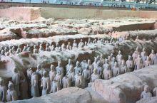 一号坑秦兵马俑博物馆中规模最为宏大壮观的挖掘遗址