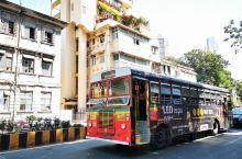 孟买的公交车
