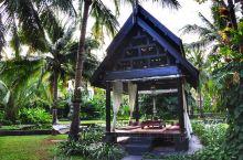 苏梅岛上的安娜塔拉度假酒店,紧靠海滩,无边泳池漂亮舒适。酒店内种了各种不知名的奇花异草,赏心悦目。
