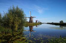 莱茵河之旅——小孩堤防风车群,列入联合国科教文组织世界遗产名录的荷兰最知名景点之一(1)。