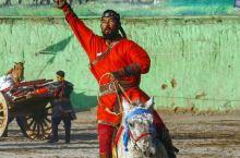 【陕西乱拍】来自蒙古草原的历史文化风情盛宴#成吉思汗黑纛#今天在陕西.泾阳龙泉古镇拉开帷幕。飞骑穿杨