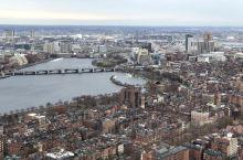 波士顿空中漫步观景台。 是位于波士顿市中心的保德信大厦的50层,大楼总高是52层。可以360度观波士