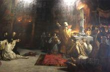 塞维利亚王宫的展览馆,收集了不少油画和其他国家的艺术品。不太了解西班牙的历史,因此对画中的故事和主人