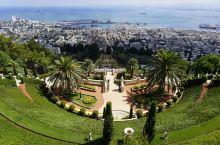 巴哈伊花园 海法是以色列最美的港口,而巴哈伊花园坐落在海法的卡梅尔山上(海拔546米),面朝地中海。