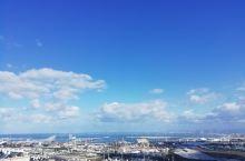 二月初的海法,忽而乌云密布,骤雨来袭,瞬间又云淡风轻啦