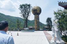 财神谷,还没完全建成,占地面积8200亩,给范蠡安了个家,全国人民都爱的财神爷。