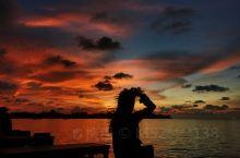 几乎所有的海都可以看日落,但沙巴的日落真的是,无与伦比的。