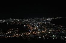 函馆夜景 真没有什么特色