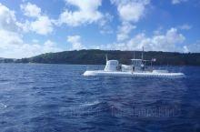關島行程的最後一天,去了坐潛艇,這個絕對是很少旅遊地點可以體驗的活動。 但潛入水中的景色,就有點失望