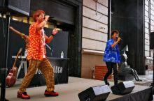 秋日,在大丸百货店前,看亚洲音乐节,精彩演出!