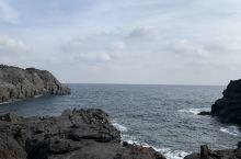 今天的城ヶ崎海岸因天气原因不够蓝,到处可见19号台风留下的爪跡!