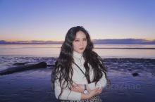 又到了温哥华紫色日落的季节 日落时来wreck beach赶海啦哈哈哈 温哥华四季的日落都不同,每天