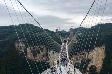 很大的玻璃桥