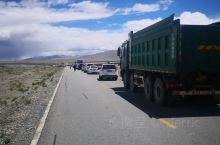 今天217国道往札达方向大堵车,据说是为了给班禅车队让路。这一点有些过了,217国道是地区大动脉,就