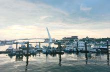 淡水渔人码头的日落