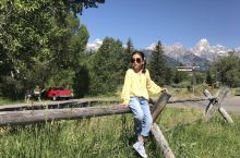 暑假里,爸爸妈妈带我去了美国的黄石国家公园。黄石国家公园是世界上第一个国家公园,公园内有雪山、森林、