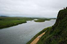 额尔古纳室韦临江原生态公园—— 这是一处纯天然的景点,离室韦镇十公里。到小镇后没有停留,先去此临江原