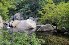 北九水景区的流水