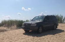 银沙湾旅游区的吉普车,有些疯狂,有没有?
