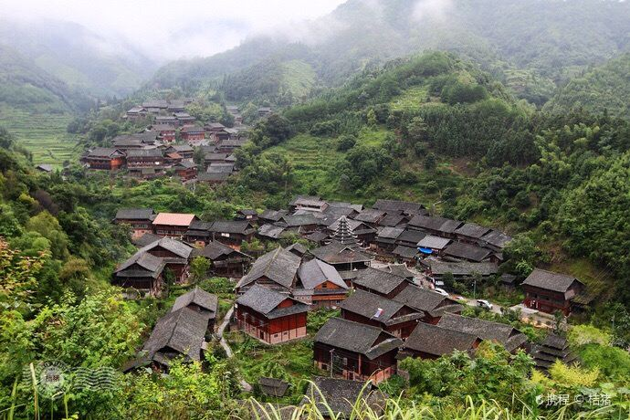 Tongdao Yutou Ancient Dong Ethnicity Village1