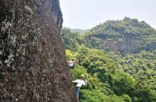 特意来东浒寨体验攀岩 那就一个刺激啊 都不敢相信 刚开始的那几十米自己是抖着双脚过来的 还好 自己完