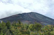 这才是火山富士山。