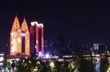 南滨一暼,国庆灯光秀