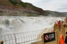 黄河壶口瀑布全景视频,山西看正面,非常震撼。