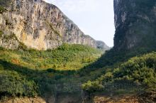 恩施的清江蝴蝶岩景区,山美水美,旅游打卡地,