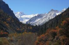 米堆冰川  10月28日 波密到左贡 米堆冰川+盔甲山+也拉山72拐