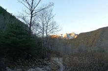 秋日的秦岭深处