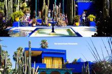 最有名的两大蓝房子| 马约尔花园  弗里达卡罗博物馆  摩洛哥·非洲   马若雷勒花园   墨西哥·