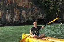 攀牙湾的神奇体验 独自划皮划艇,爽!