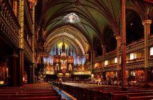 北美最大的教堂诺特丹圣母大教堂建于1829年,位于达尔姆广场对面,是一座新哥特式的天主教堂,可容纳5