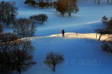 2020年开年之旅,去了内蒙古乌兰布统。这里千里冰封,万里雪飘,山舞银蛇,原驰蜡象,一切都那么纯净美