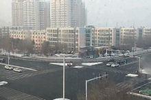 石河子的白天,雪后的石河子还是那么干净整洁,道路宽敞,车辆有序进行~