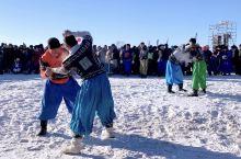 雪地围观呼伦贝尔冬季那达慕搏克对决 冬季大家来呼伦贝尔看美景、林海雪原,各项蒙古草原运动你也一定要
