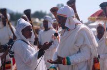 刚到埃塞俄比亚第一站,就作为VIP嘉宾参与到埃塞俄比亚 一年一度的盛大庆典节日~主显节  近距离接触