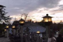 奈良:到此一游;登顶二月堂,俯瞰晚霞下的红褐色奈良 奈良是个很小的旅游城市,几乎所有的旅游景点都聚集