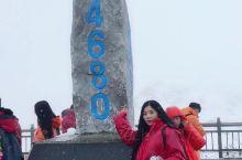 云南玉龙雪山,雪景真的不错就是太冷