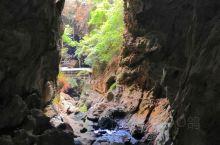 溶洞里面的景色