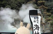 #逸香兔在异乡# 别府温泉,日本九州岛最著名的天然温泉之一。 一共有八处不同的温泉景区,都是要门票的