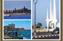《埃及的亚历山大》 亚历山大是一座东西狭长的城市,长约20公里的海湾紧紧依偎着地中海,地中海的对面就