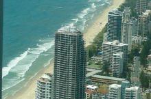 澳大利亚随手拍系列7-俯瞰黄金海岸和布里斯班河  布里斯班·昆士兰 澳洲的一个海滨城市,来这里旅游最