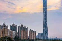 广州珠江新城 广州塔 广州地标 小蛮腰 广州塔广场