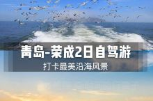 青岛-荣成2日自驾游|打卡最美沿海风景 初夏时节的海人少又干净,之前从青岛自驾去荣成,沿途风景从海滨